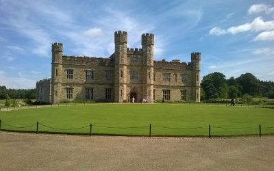 Zamki i architektura w Anglii – wspomnienia z podróży.